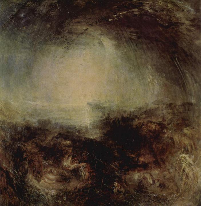 картина Тень и мрак - вечер перед потопом :: Уильям Тёрнер - William Turner фото