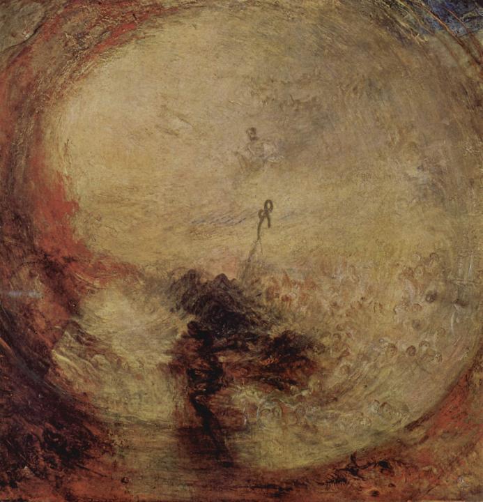 картина < Свет и цвет. Утро после потопа. Моисей пишет Книгу Бытия >:: Уильям Тёрнер ( William Turner ) - William Turner фото