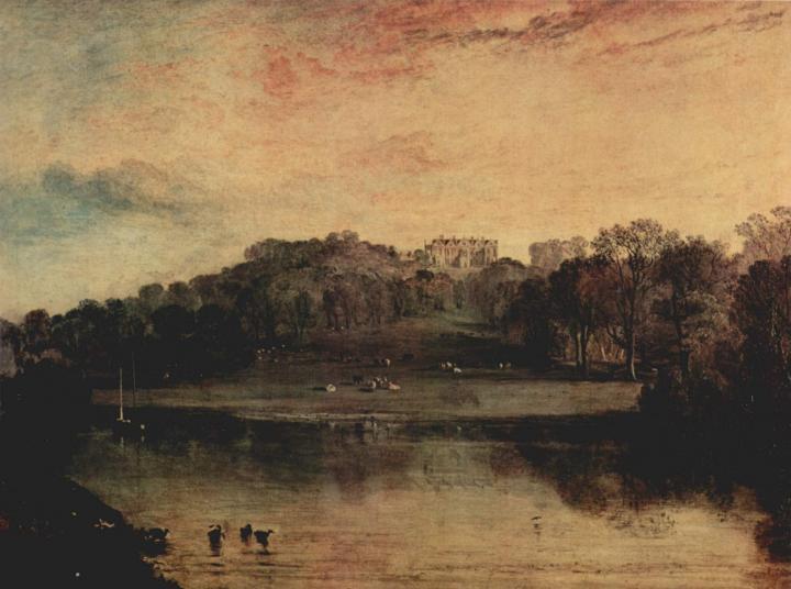 картина < Саммер-хилл близ Танбриджа, поместье У.Ф. Вудгейта >:: Уильям Тёрнер ( William Turner ) - William Turner фото