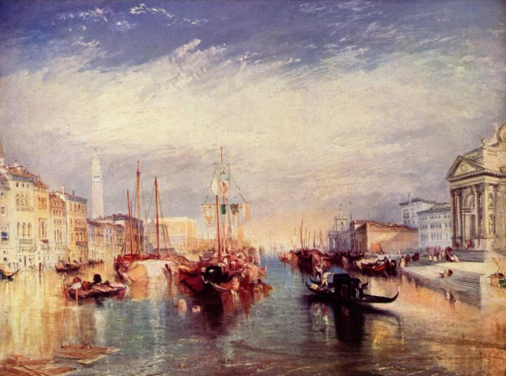 картина < Большой канал в Венеции >:: Уильям Тёрнер ( William Turner ) - William Turner фото