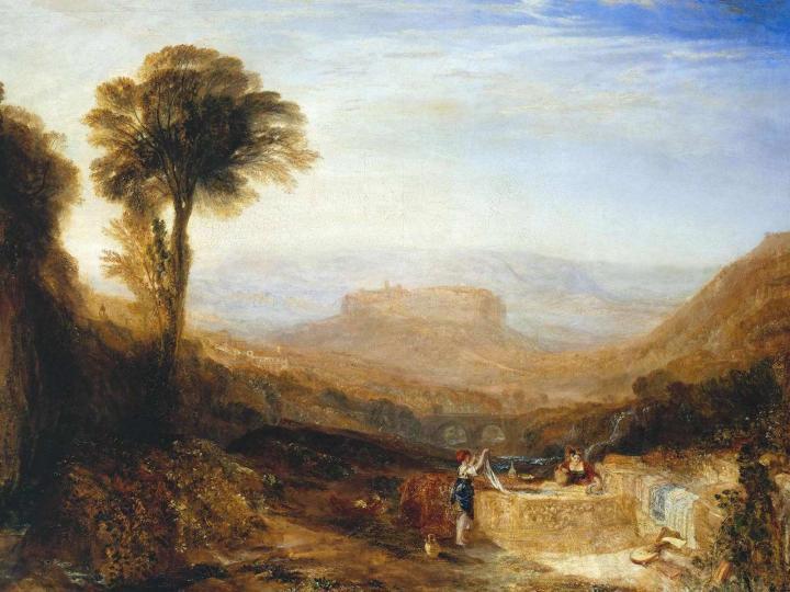 картина Вид из Орвьето :: Уильям Тёрнер - William Turner фото