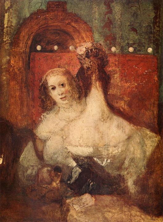 картина < Две женщины и одно письмо >:: Уильям Тёрнер ( William Turner ) - William Turner фото