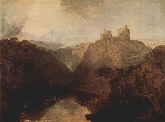 картина Замок Килгарран на Туайвее :: Уильям Тёрнер - William Turner фото