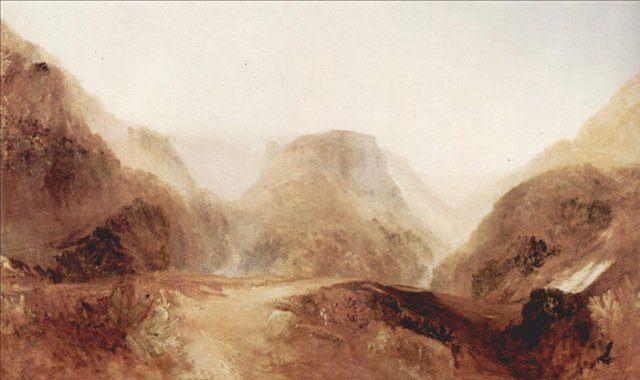 картина Итальянский пейзаж :: Уильям Тёрнер - William Turner фото