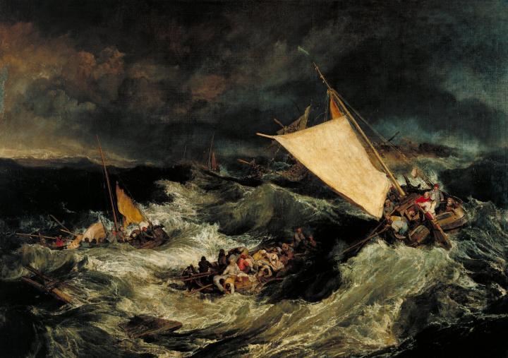 картина Кораблекрушение :: Уильям Тёрнер - William Turner фото