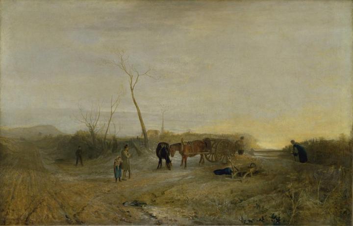 пейзаж Морозное утро:: Уильям Тёрнер - William Turner фото