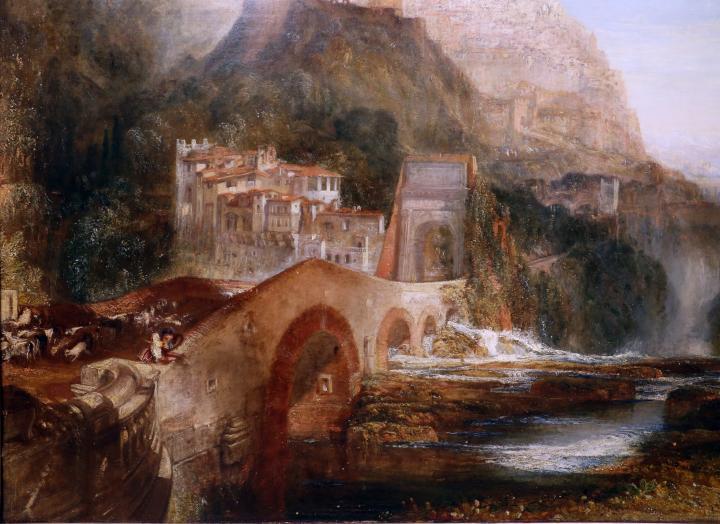 картина Палестринская композиция :: Уильям Тёрнер - William Turner фото