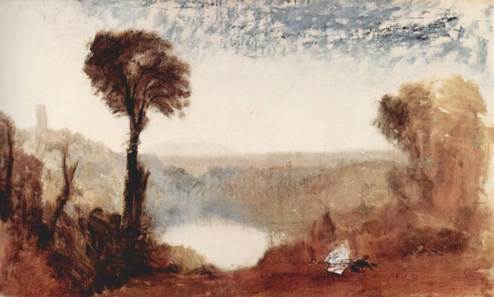 картина < Озеро Неми >:: Уильям Тёрнер ( William Turner ) - William Turner фото