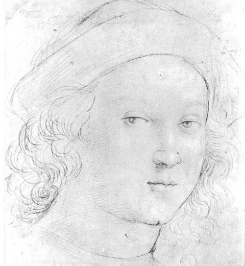 картина <Голова мальчика>  РАФАЭЛЬ - Raffaello Santi фото