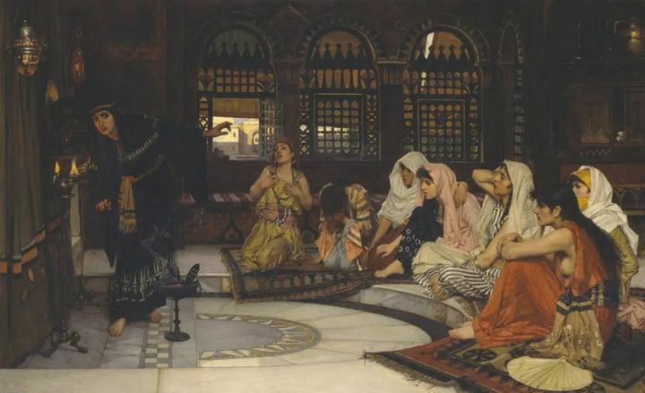 картина Предсказания Оракула :: Вотерхаус Джон Вильям - John William Waterhouse фото