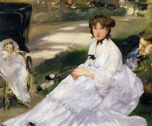 В саду :: Эдуард Мане, описание картины - Edouard Manet фото