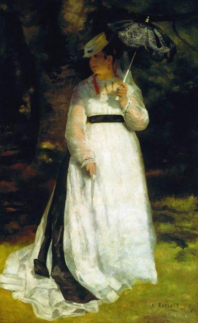 Лиза :: Ренуар Пьер Огюст - Pierre-Auguste Renoir фото