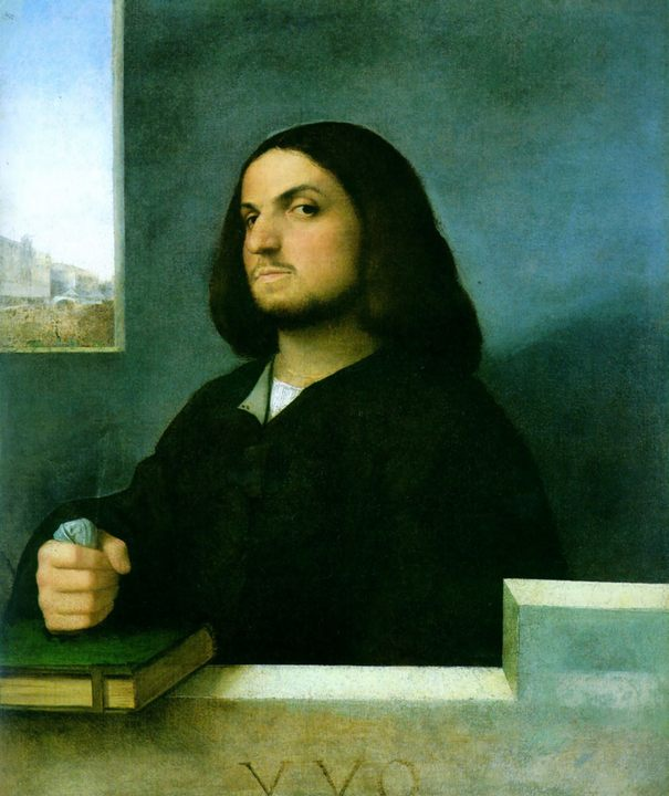 Портрет венецианского дворянина :: Тициан Вачелио, описание картины - Tiziano Veccellio (Тициан) фото