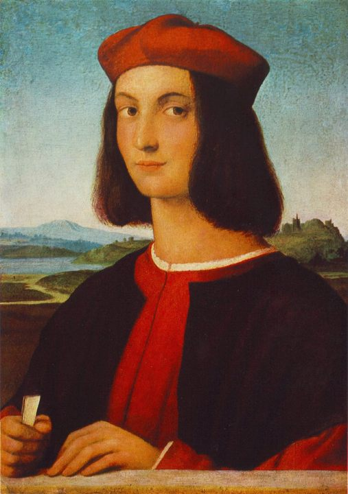 Портрет Пьетро Бембо :: Рафаэль Санти, описание картины - Raffaello Santi фото