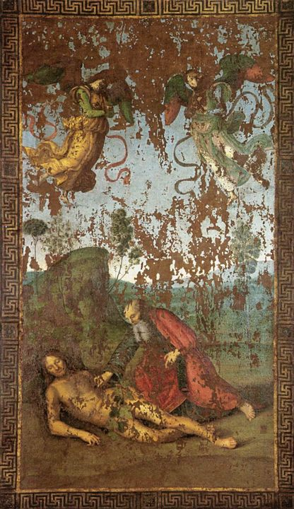 Создание Евы из Адама :: Рафаэль Санти, описание картины - Raffaello Santi фото