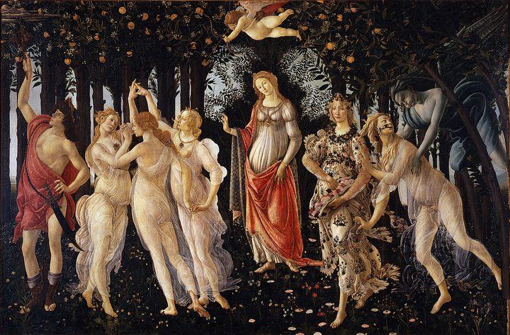 картина Весна :: Боттичелли Сандро - Sandro Botticelli фото