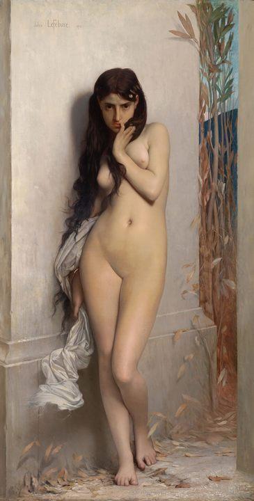 Цикада :: Жюль Жозеф Лефевр - Картины ню, эротика в шедеврах живописи фото