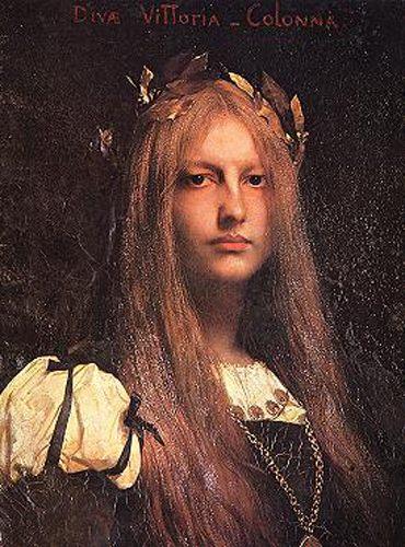 Виттория Колонна (портрет) :: Жюль Жозеф Лефевр  - Портреты фото