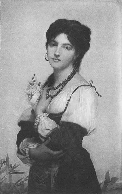 Невеста из Сорренто :: Жюль Жозеф Лефевр  - Портреты фото