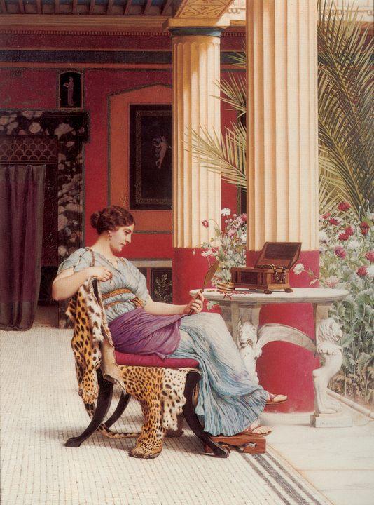 Шкатулка c драгоценностями :: Джон Уильям Годвард - Древний Рим и Греция, Египет фото