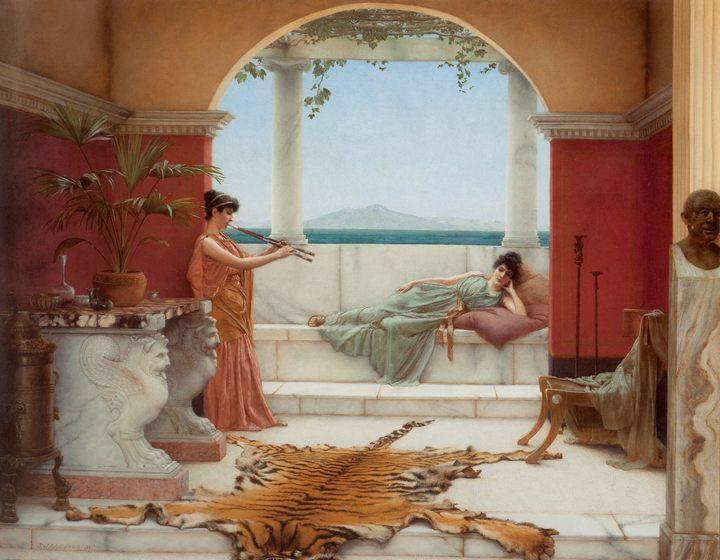 Сиеста летним днём :: Джон Уильям Годвард - Древний Рим и Греция, Египет фото