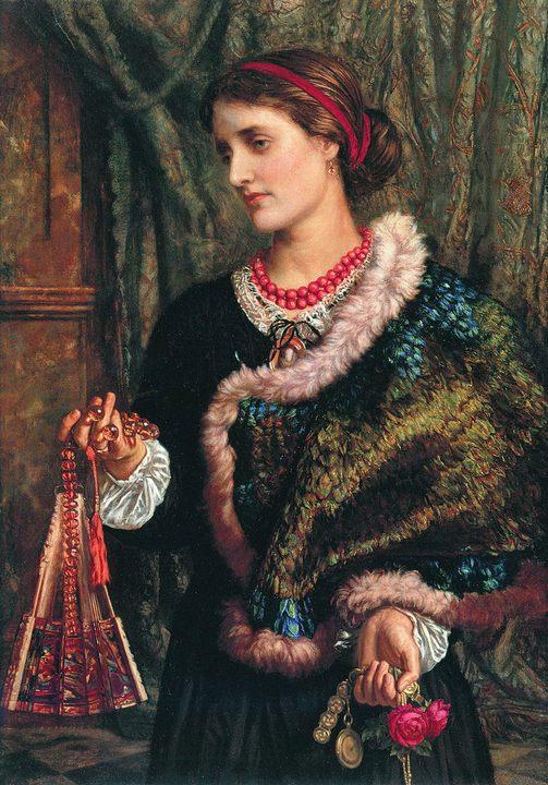 картина портрет День рождения :: Уильям Холман Хант - Портреты фото