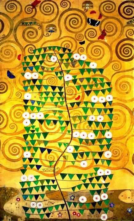 Панно в столовой дворца Стокле :: Густав Климт  - Gustav Klimt фото