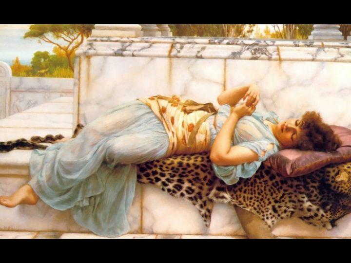 Невеста :: Джон Уильям Годвард - Портреты фото
