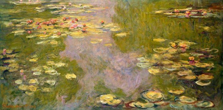 Водяные лилии :: Клод Моне - Claude Monet фото