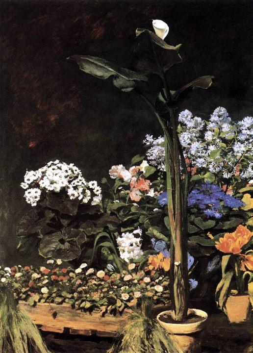 Натюрморт :: Ренуар Пьер Огюст - Цветы и натюрморты - картины художников прошлых веков фото