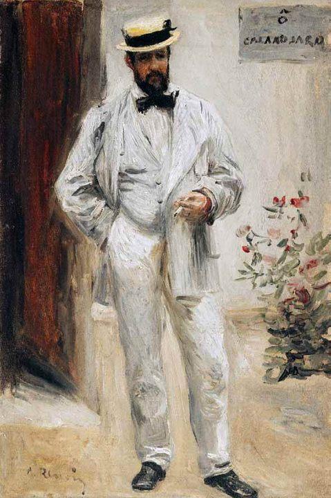 Портрет Шарля ле Кера :: Ренуар Пьер Огюст - Pierre-Auguste Renoir фото