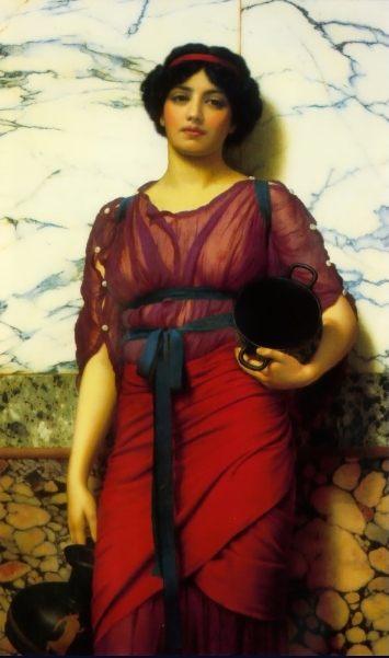 Греческая идилия :: Джон Уильям Годвард - Картины ню, эротика в шедеврах живописи фото