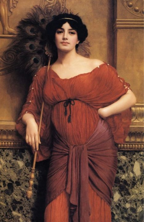 Римская матронна :: Джон Уильям Годвард - Древний Рим и Греция, Египет фото