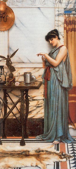 Его подарок на День Рождения :: Джон Уильям Годвард - Древний Рим и Греция, Египет фото