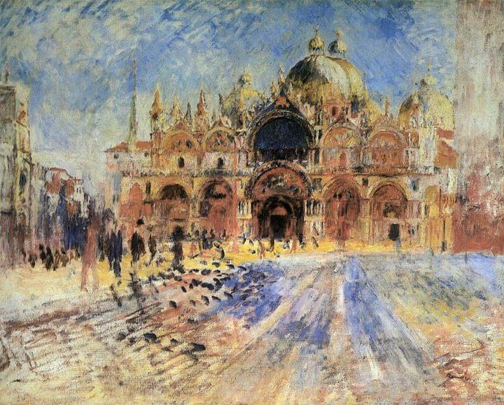 «Пьяцца Сан Марко» :: Ренуар Пьер Огюст - Pierre-Auguste Renoir фото