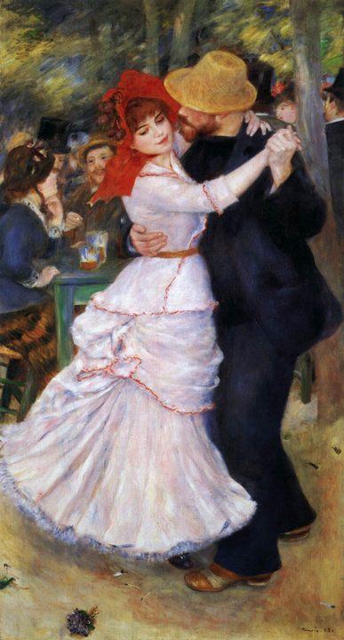 картина Танец в Буживале :: Ренуар Пьер Огюст - Pierre-Auguste Renoir фото
