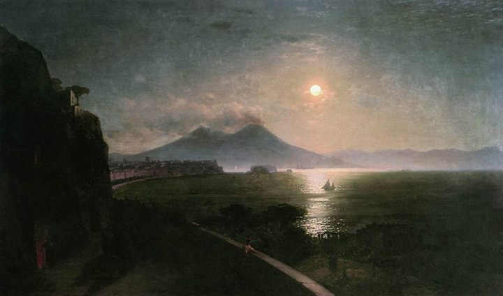 картина Везувий :: Айвазовский И.К. - Aivazovsky, Ivan Constantinovich фото