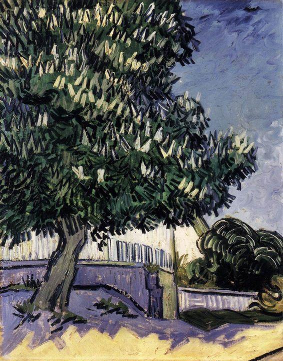 Каштан в цвету :: Винсент Ван Гог - Van Gogh фото