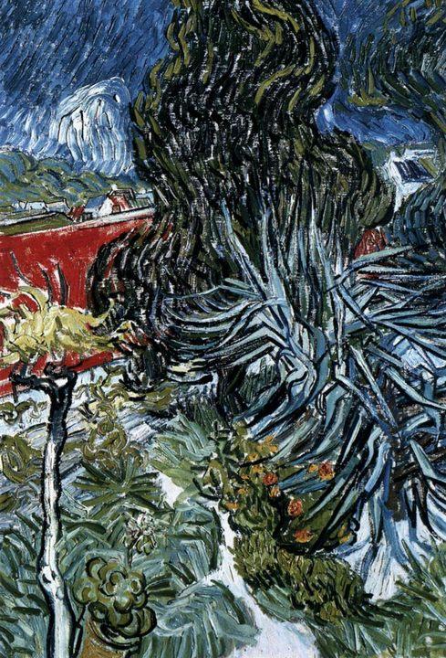 Сад доктора Гаше в Овер :: Винсент Ван Гог, описание картины  - Van Gogh фото