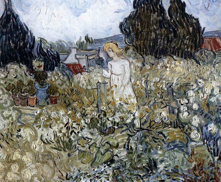 пейзаж Маргарита Гаше в саду :: Винсент Ван Гог, описание картины - Van Gogh фото