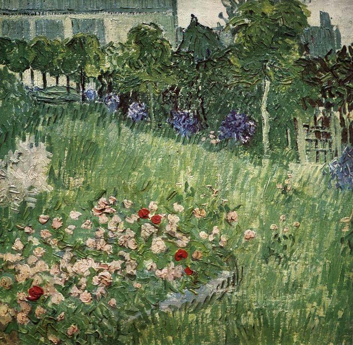 Сад Добиньи в Овер :: Винсент Ван Гог, описание картины  - Van Gogh фото