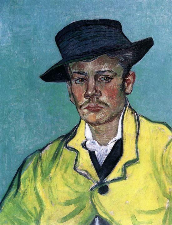 Портрет Армана Рулена :: Винсент Ван Гог - Van Gogh фото