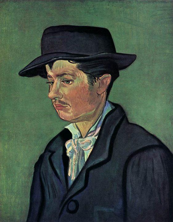 Портрет Армана Рулена :: Винсент Ван Гог, описание картины  - Van Gogh фото