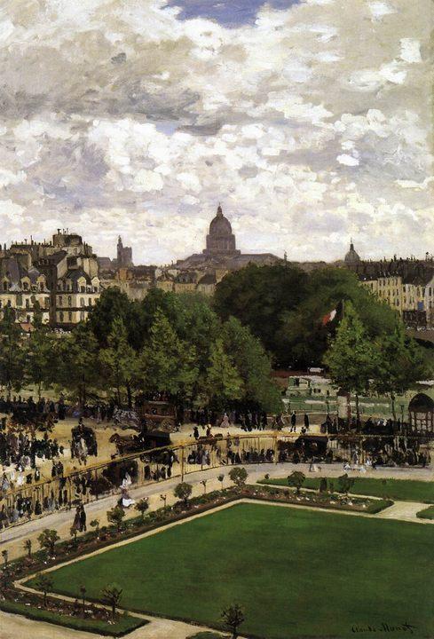 Сад инфанта :: Клод Моне, описание картины  - Claude Monet фото