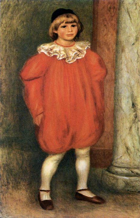 Клоун :: Ренуар Пьер Огюст - Pierre-Auguste Renoir фото