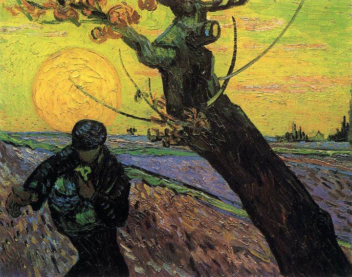 Сеятель :: Винсент Ван Гог, описание картины - Van Gogh фото