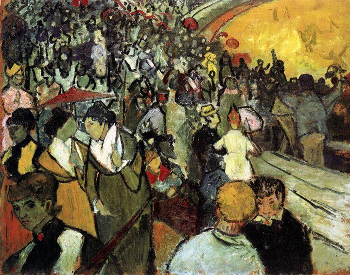 Зрители на арене в Арле :: Винсент Ван Гог, описание картины - Van Gogh фото