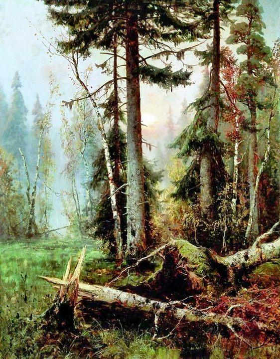 картина Дебри (лесной пейзаж) :: Клевер Ю.Ю. - Klever Yuliy фото