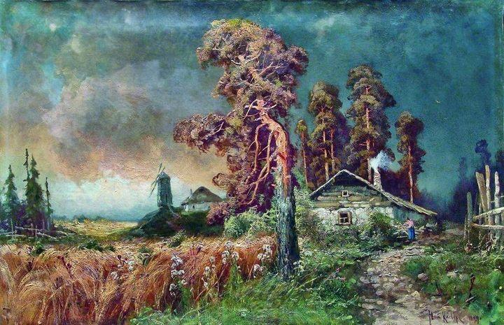 картина Перед грозой :: Клевер Ю.Ю. - Klever Yuliy фото