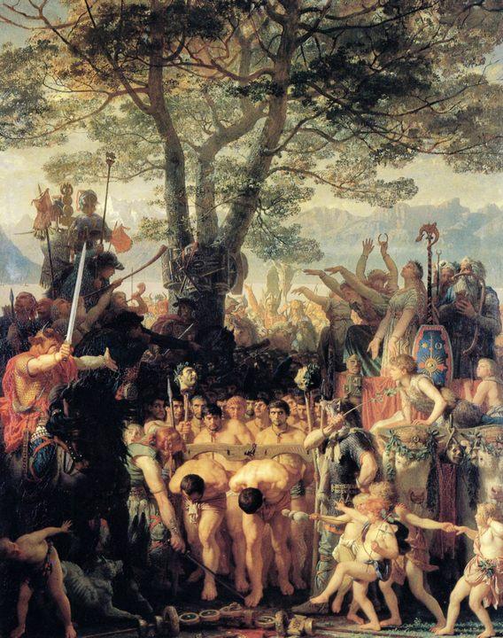 Римляне под игом :: Шарль Глейр, описание картины - Древний Рим и Греция, Египет фото